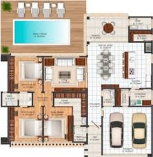 Modern House Plans Designs by Ranch Style House Plan 2 Beds 2 5 Baths 2507 Sq Ft Plan 888 5