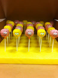thanksgiving themed cake pops spongebob class party the sweet boutique bakery