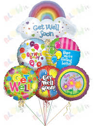 get well soon and balloons get well soon balloon bouquets in toronto from blowit ca