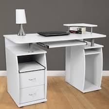 White Computer Desks For Home Captivating White Computer Desk Corner White Computer Desk