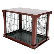 diy dog grooming table dog crate grooming table top mahogany pet end pier 1 imports