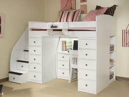 Twin Loft Bed With Stairs 25 Awesome Bunk Beds With Desks Perfect For Kids