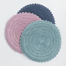 Round Flower Rug by Bath Rugs Bath Mats Bath Rug Sets World Market