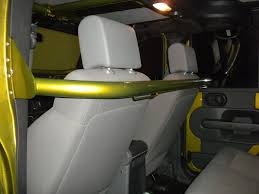 jeep wrangler backseat rock hard rear seat harness bar jkowners com jeep wrangler jk