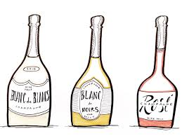 champagne bottle cartoon how to choose champagne wine folly