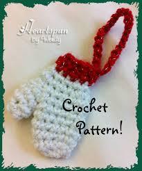 9 best photos of mini mitten ornament pattern mini