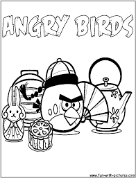 birds coloring pages red bird