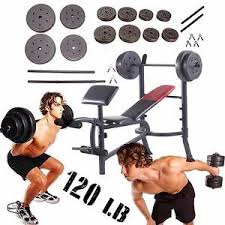 weight bench set ebay