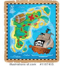 treasure map clipart treasure map clipart 1107415 illustration by visekart