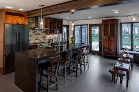 steampunk meets modern kitchen bluestem construction
