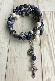 rosary bracelet rosary bracelet fancy jasper