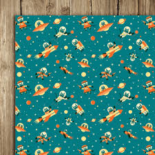 Cat Wrapping Paper Nobrow Press Astro Cat Wrap 5 Sheets