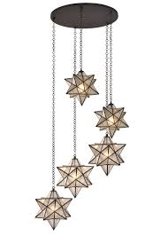 star light fixtures ceiling meyda 45 w moravian star 5 lt cascading pendant pendants star and