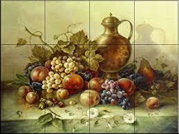 kitchen tile murals backsplash ceramic tile mural fruit bouquet i by corrado pila kitchen