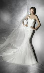 pretty wedding dresses pronovias pretty 1 800 size 4 new un altered wedding dresses