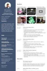 resume website exles videomaker editor resume exle projects to try