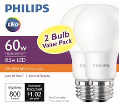 60w led light bulb philips lighting delivers sub five dollar 60w equivalent led l leds