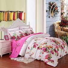 Bedding Sets For Girls Print by Saym Home Bedding Sets Elegant Rural Style Print Twin Size Set For