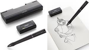 wacom inkling digital sketch pen ohgizmo