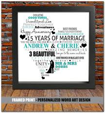 15 year anniversary gift ideas for 15th wedding anniversary gift ideas wedding