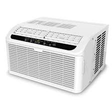 Small Window Ac Units The Quietest 6 000 Btu Window Air Conditioner Hammacher Schlemmer