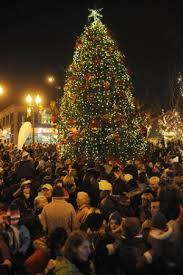 downtown oakville christmas tree lighting u0026 market oakville kids