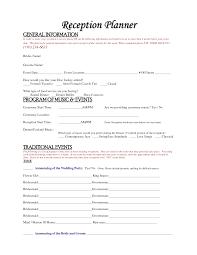 wedding reception planning checklist free u2013 bernit bridal