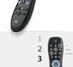 simple tv urc 6410 universal remotes one for all united