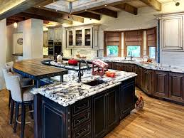 kitchen island with granite kitchen islands granite top island and with seating overhang givgiv
