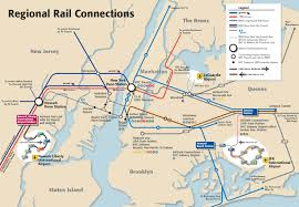 Metro Map Nyc by Map Of Nyc Airport Transportation U0026 Terminal
