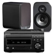 denon rcd m41dab w q acoustics 3020 speakers dm41