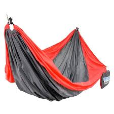 equip 2 person nylon travel hammock red grey walmart com