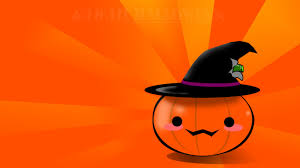 1366x768 kawaii japanese halloween desktop pc and mac wallpaper