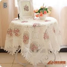 Tablecloth Wedding Table Cloth Cover Overlays Home Decor Textiles - Home decor textiles
