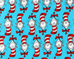 dr seuss assorted gift wrapping paper cat crafts etsy