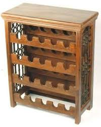 wooden wine rack wine storagerack with top and baseboard wine