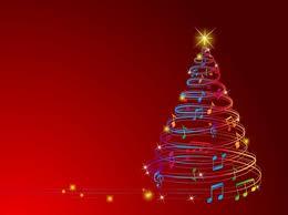 musical christmas lights musical christmas tree digitial backgrounds