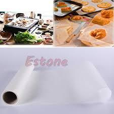 papier parchemin cuisine 5 m rouleau de papier parchemin silicone four de cuisson sulfurisé