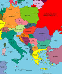 map of eastern european countries map of eastern europe travel map travelquaz com