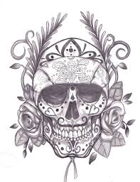 forearm skull tattoos sugar skull gypsy n rose tattoo on forearm photos pictures and