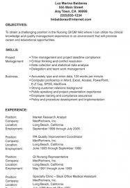 exle of resume objective lpn resume sle exle exles student