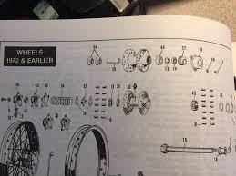 1972 flh rear wheel bearing spacer harley davidson forums