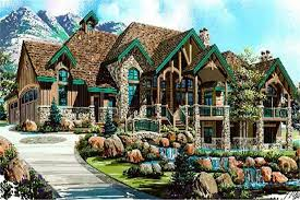luxury home plans luxury house plans rustic craftsman home design 8166