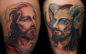 100 good and evil tattoo designs angel tattoos design
