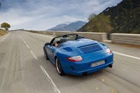 porsche speedster 2011 porsche 911 speedster review evo