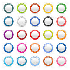 badge template free round badge or button blank template vector