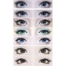 light blue cosplay contacts best colored contact lenses for brown eyes uniqso
