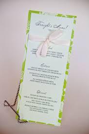 Wedding Invitations With Menu Cards Menu Cards Wedding Baltimore Invitations Kindly Rsvp Designs Blog