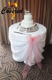 wedding cake table swags organza table swag bows great for