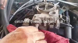 1980 corvette carburetor how to replace a fuel filter on a 1977 1985 chevy impala caprice